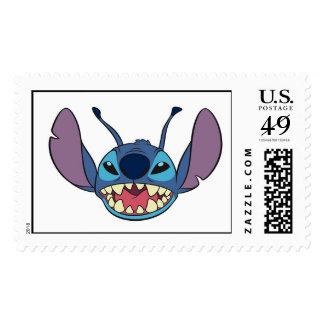 Stitch Big Smile Postage Stamps
