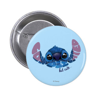 Stitch | Complicated But Cute 2 Button