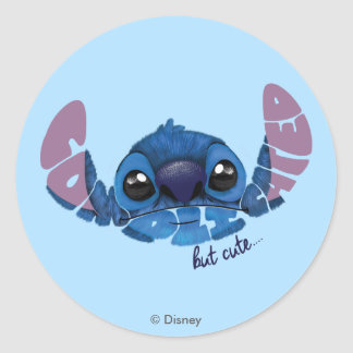 Stitch | Complicated But Cute 2 Classic Round Sticker