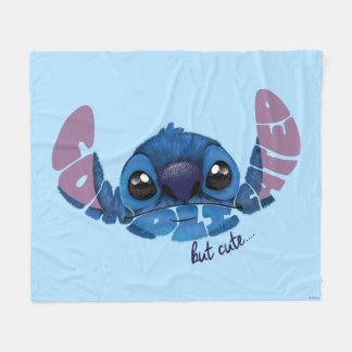 Stitch | Complicated But Cute 2 Fleece Blanket