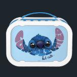 "Stitch | Complicated But Cute 2 Lunch Box<br><div class=""desc"">Disney Fast Fashion - So Font-Tastic | Stich - Complicated But Cute.  This cute graphic features Stitch and the quote &quot;Cute but Complicated&quot; in a fun font.</div>"