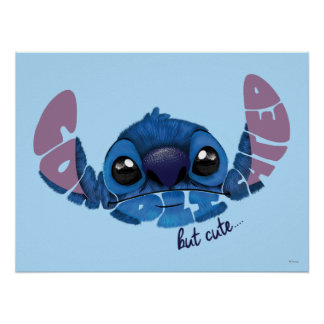 Stitch | Complicated But Cute 2 Poster