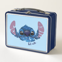Stitch | Complicated But Cute Metal Lunch Box