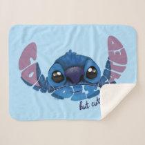 Stitch | Complicated But Cute Sherpa Blanket