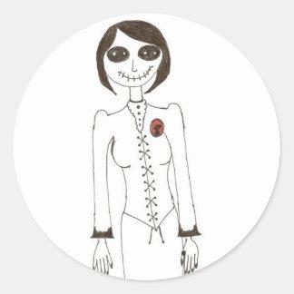 Stitch creepy stickers