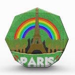 Stitch Eiffel Tower Acrylic Award