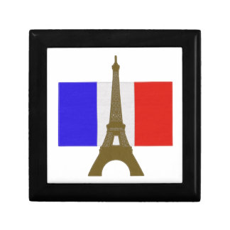 Stitch Eiffel Tower Keepsake Box
