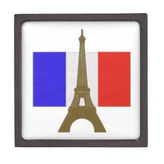 Stitch Eiffel Tower Premium Keepsake Box