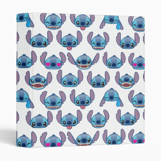 Stitch Emoji Pattern Binder