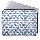 Stitch Emoji Pattern Laptop Sleeve