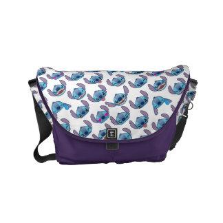 Stitch Emoji Pattern Small Messenger Bag