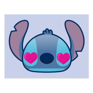 Stitch Emoji Postcard