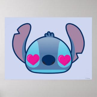 Stitch Emoji Poster