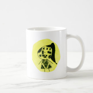 Stitch girl coffee mug