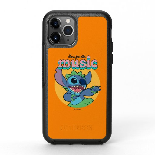 Stitch | Here for the Music OtterBox Symmetry iPhone 11 Pro Case