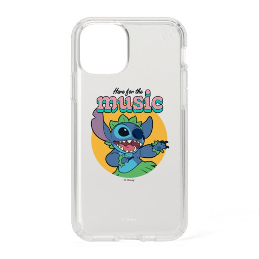 Stitch | Here for the Music Speck iPhone 11 Pro Case