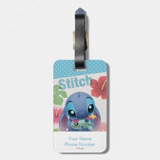Stitch Luggage Tag