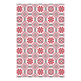 Stitch pattern flyer