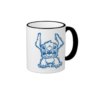 Stitch  ringer coffee mug