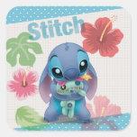 Stitch Square Sticker