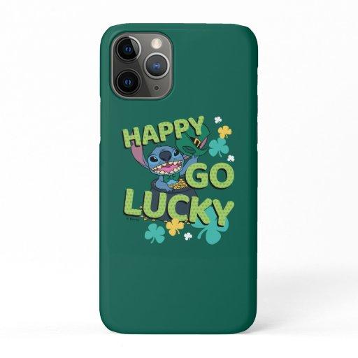 Stitch | St. Patrick's Day - Happy Go Lucky iPhone 11 Pro Case