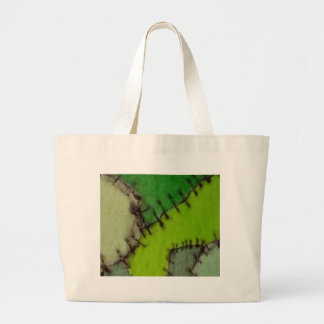 stitched canvas bag
