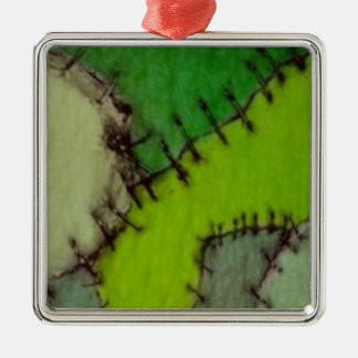 stitched christmas ornament