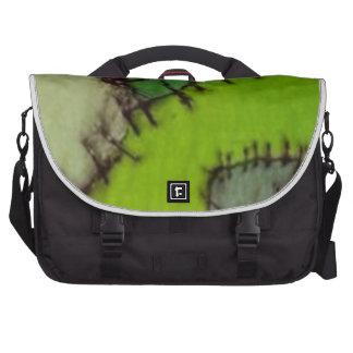 stitched commuter bag