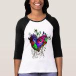 Stitched Heart Baseball Shirt