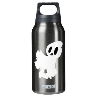 Stitched Mouth Blanket Ghost Insulated Water Bottle