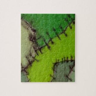 stitched puzzle