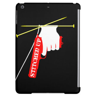 Stitched Up Knitted Gun iPad Air Case
