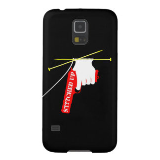Stitched Up Knitting Pistol Case For Galaxy S5