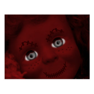 Stitched Up Psycho Living Dead Doll Postcard