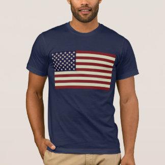 Stitched Vintage Flag Shirt