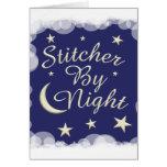 Stitcher By Night Greeting Card