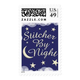 Stitcher By Night Stamp