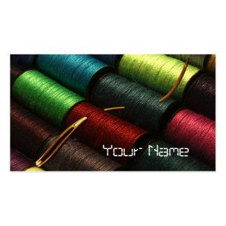 Stitchery creativo tarjeta de negocio