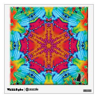 Stitches Kaleidoscope Wall Sticker