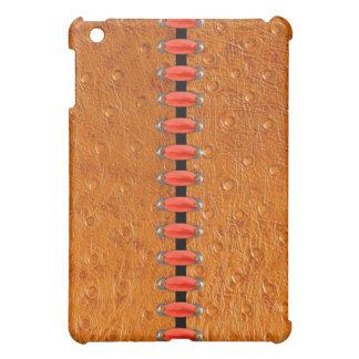 Stitches Ostrich Skin Leather iPad Case