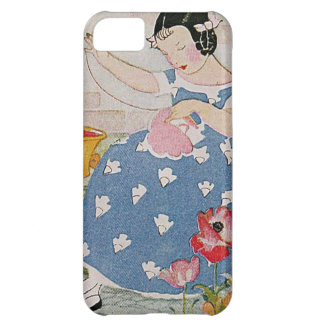Stitching Girl iPhone 5C Cover