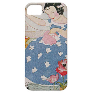 Stitching Girl iPhone SE/5/5s Case