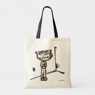 """Stitchlip in Corner w' Outlet""  By Levi Glassrock Canvas Bags"