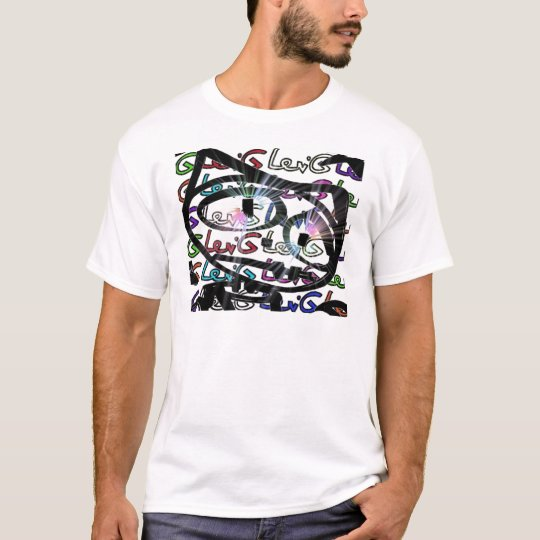 Stitchlip on Levi G. Tag  White Pattern in COLOR T-Shirt