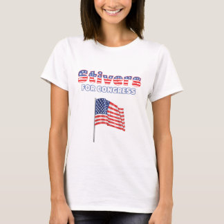 Stivers for Congress Patriotic American Flag T-Shirt