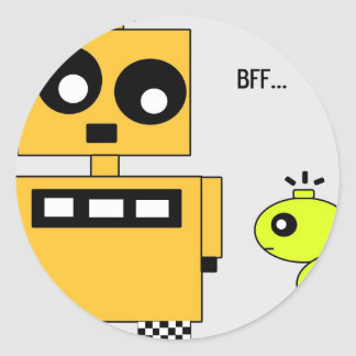 STIX: BFF CLASSIC ROUND STICKER