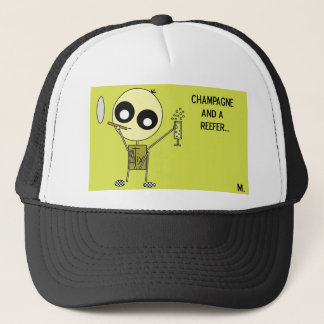 STIX: Chamagne and a Reefer Trucker Hat