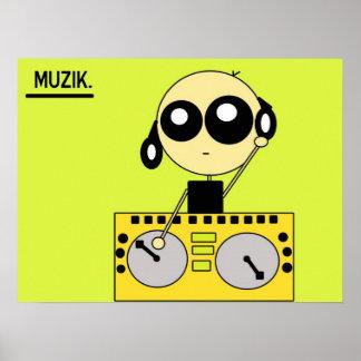 STIX: Muzik Poster