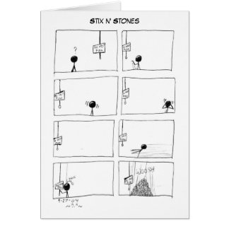 Stix n' Stones card