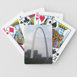 STL ARCH BICYCLE PLAYING CARDS